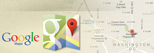Display website visitor position over Google Maps