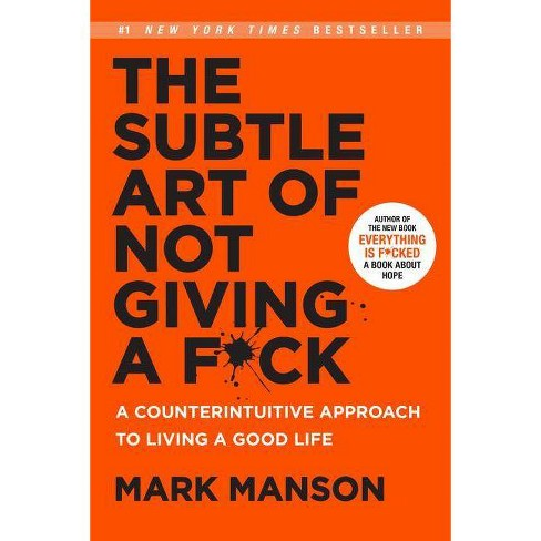 Book Subtle Art of not giving f*ck